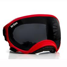 Rex Specs Dog Goggles - Red with Smoke Lens