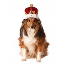 Rubies King's Crown Dog Hat - Red