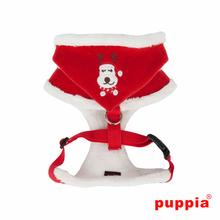 Rudolph Adjustable Dog Harness by Puppia - Red
