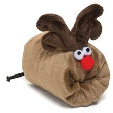 Rudy Holiday Dog Toy - Cappuccino