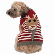 Rudy's Reindeer Dog Sweater by Petrageous