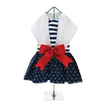 Sailor Girl Nautical Dog Dress