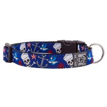 Sailor Tatts Adjustable Dog Collar by RC Pet
