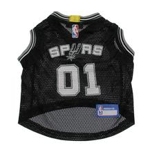 San Antonio Spurs Dog Jersey - Black