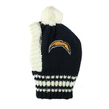 San Diego Chargers Knit Dog Hat