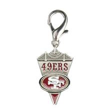 San Francisco 49ers Pennant Dog Collar Charm
