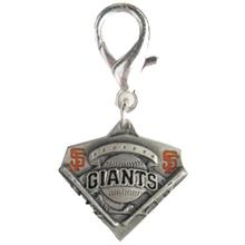 San Francisco Giants Pennant Dog Collar Charm
