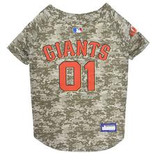 San Francisco Giants Dog Jersey - Camo