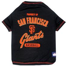 San Francisco Giants Dog T-Shirt - Black
