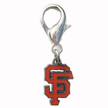 San Francisco Giants Logo Dog Collar Charm