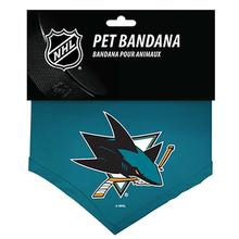 San Jose Sharks Cotton Dog Bandana