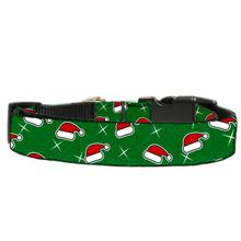 Santa Hat Nylon Dog Collar