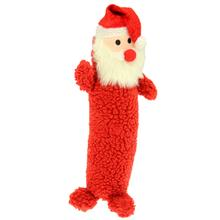 Santa Stick Dog Toy