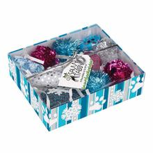 Savvy Tabby Crinkle Kitty Holiday Gift Set - Blue and Pink Set