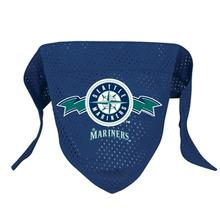 Seattle Mariners Mesh Dog Bandana