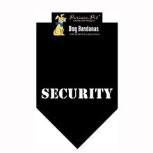 Security Dog Bandana - Black