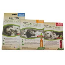 Sentry Natural Defense 3-Month Flea/Tick Squeeze-On Treatment for Dogs