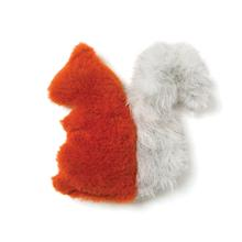 Sequoia Squirrel Dog Toy by West Paw - Pumpkin