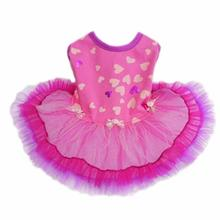 Serafina Party Dog Dress - Purple