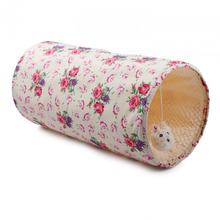 Shabby Chic Summer Time Cat Tunnel - Cream