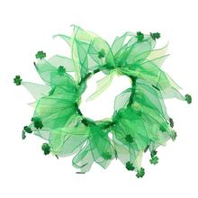 Shamrock Smoocher Pet Scrunchie