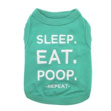 Sleep Eat Poop Dog Tank by Parisian Pet