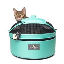 Sleepypod Mobile Pet Carrier Bed - Robin Egg Blue
