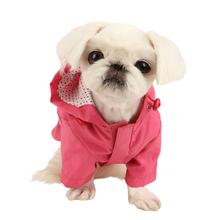 Slicker Dog Rain Jacket by Pinkaholic - Pink