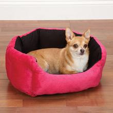 Slumber Pet Dimple Plush Nesting Bed - Pink