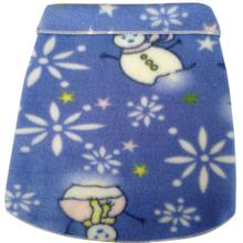 Snowman Snowflake Dog Pullover - Light Blue