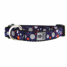 Soda Pop Reflective Dog Collar - Blue