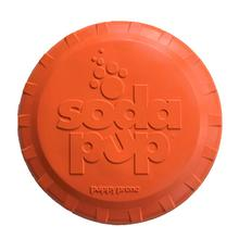 SodaPup Bottle Top Flyer Dog Toy - Hunter Orange