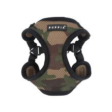 Soft Adjustable Step-In Dog Harness by Puppia - Camo