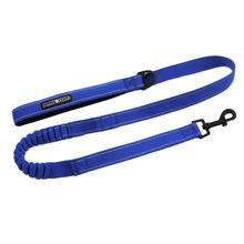 Soft Pull Traffic Dog Leash - Cobalt Blue