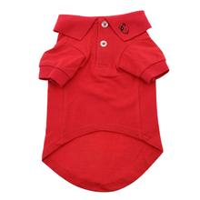 Solid Dog Polos - Flame Scarlet Red