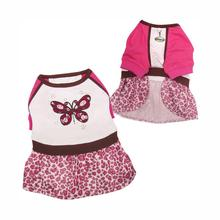 Sparkling and Colorful Butterfly Dog Dress by Klippo