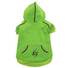Sport Dog Hoodie - Green Flash