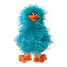 Spring Chicken Dog Toy - Turquoise