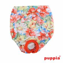 Spring Garden Dog Sanitary Pants by Puppia - Orange