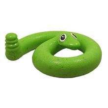 Springy Snake Dog Toy by Cycle Dog - Green