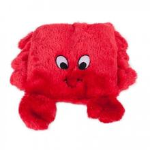 Squeakie Pad Dog Toy - Crab