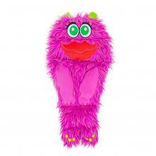 Squeakimals Lip Monster Dog Toy - Pink
