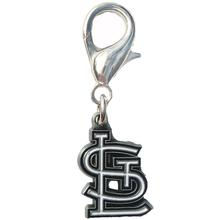 St. Louis Cardinals Logo Dog Collar Charm