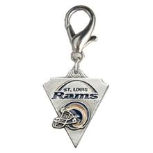St. Louis Rams Pennant Dog Collar Charm
