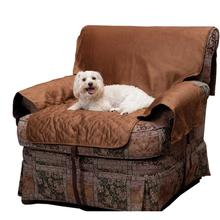 Sta-Put Full Fit Dog Furniture Protector by Solvit - Cocoa