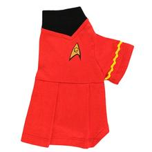 Star Trek Uhura Uniform Dog Dress - Red