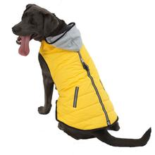 Stowe Puffer Dog Coat - Yellow