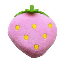 Strawberry Dog Toy - Pink