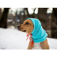 Summit Snood Dog Neck Gaiter - Teal/Orange