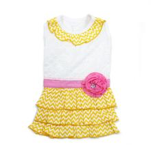 Sunshine Chevron Dog Dress by Dogo